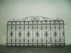 Gard din fier forjat- model panou modular